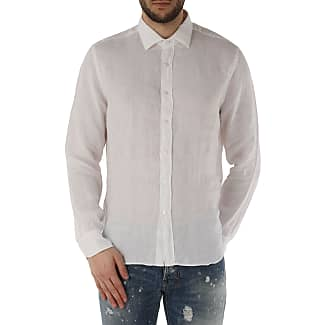 Camisa de Hombre Baratos en Rebajas, Vaquero, Lino, 2017, XXL Cit Luxury 1939