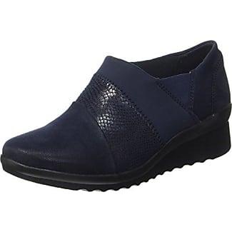 Semler Elena-G1/2, Zapatos de Cordones Brogue para Mujer, Azul-Blau (080 Midnightblue), 36 1/3 EU