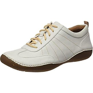 Clarks Autumn Garden, Sneakers Basses Femme, Gris (Sage Combi), 35.5 EU