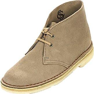 Clarks Desert Boot - zapatillas deportivas altas de cuero mujer, color azul, talla 36