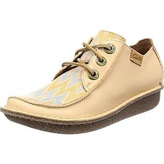 Flat Laze Shoe, Derby Femme, Ivoire (Velvet Nude), 37 EUShoe Biz