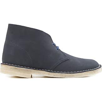 Clarks Boot, Botas Desert para Hombre, Azul (Navy Fabric), 42.5 EU
