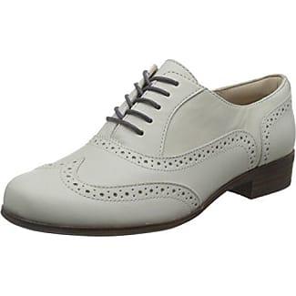 Clarks Teadale Rhea, Zapatos de Cordones Brogue Para Mujer, Beige (Pewter Suede), 35.5 EU