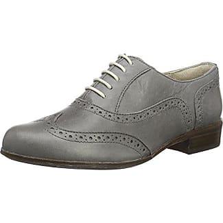 Clarks Alice Mae, Zapatos de Cordones Brogue para Mujer, Beige (Sand Combi), 40 EU