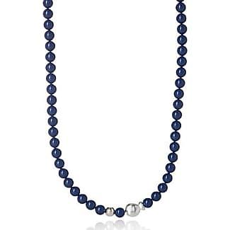 Clio Blue Luminescent pearl necklace