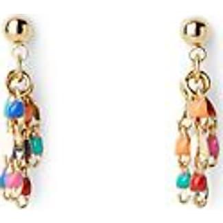 Cloverpost Pop mini tassel earrings
