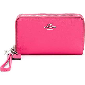 Mini Zip, Womens Card Case, Pink (Hot Pink), 1.91x7.01x10.16 cm (B x H T) Fossil