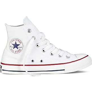 2all star converse pelle bianche