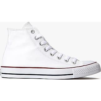 Converse Men  all star hi patent/suede off-white (optical white) 35