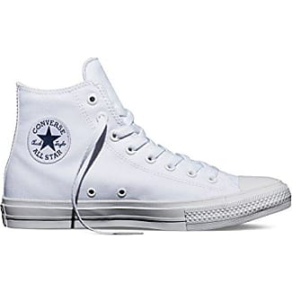 Converse Chuck Taylor All Star HI UK 7 UE 40 OPTICAL WHITE BIANCO WEISS m7650c NUOVO