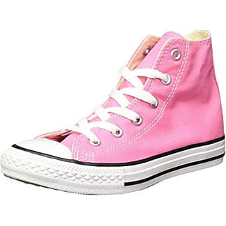 converse alte bambina rosa
