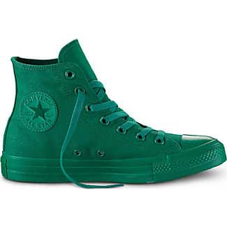 converse all star verde scuro