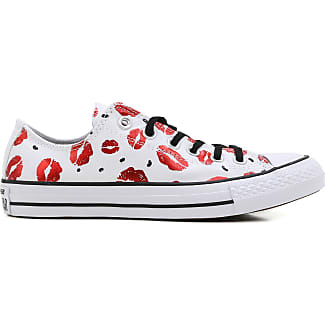 Sneakers for Women On Sale, Limited Edition, White, Canvas, 2017, US 5.5 (EU 36.5) Converse