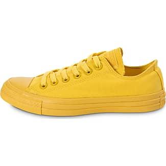 converse femme jaune fluo