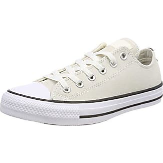 Converse Chuck Taylor All Star Core Ox, Baskets mode mixte adulte - Beige (Natural White/Unblecach White) - 36.5 EU