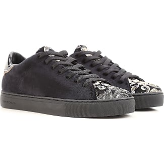 Sneakers for Women On Sale, Black, Leather, 2017, 5.5 Crime London