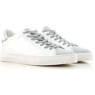 Sneakers for Women On Sale, Ivory, Leather, 2017, 4.5 Crime London