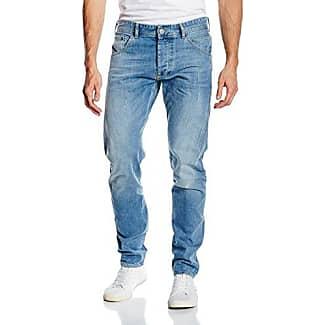 Adam - Pantalones Vaqueros Hombre, Color Azul, Talla W29/L34 (Talla Fabricante: 29) Cross Jeanswear