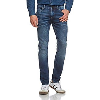 Johnny - Vaqueros para hombre, color blau (mid blue 472), talla w28/l32 (28) Cross Jeanswear