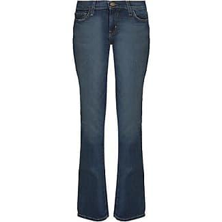 Current/elliott Woman High-rise Flared Jeans Dark Denim Size 27 Current Elliott