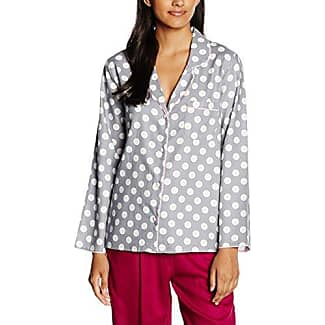 Lotus Flower Grey Mix Spot Print Nightdress 3007 Cyberjammies