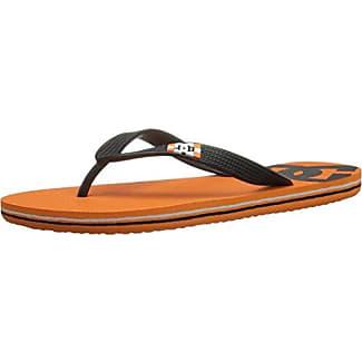 Spray Sandal - Black / Orange