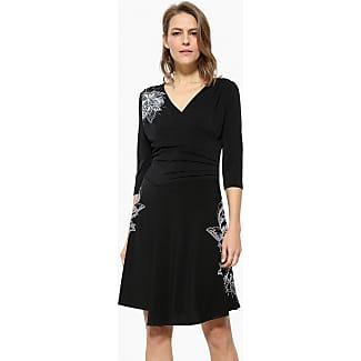 Desigual jurk zwart wit