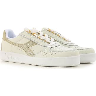 Sneakers for Women On Sale, White, Leather, 2017, 7.5 Diadora