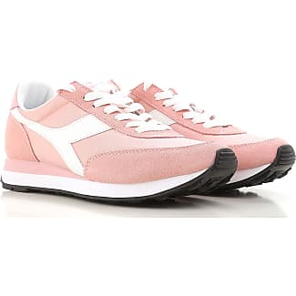Sneakers for Women On Sale, lilla, Suede leather, 2017, 3.5 4 4.5 5.5 6 7.5 Diadora