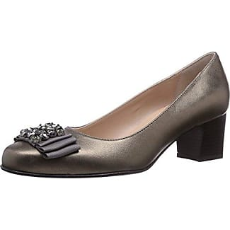 Diavolezza Cleo - Zapatos de tacón para mujer, color negro, talla 39.5