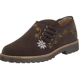 Diavolezza - Zapatos de Cuero para Mujer, Marrón, 43