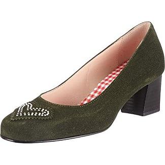 Diavolezza - Zapatos de ante para mujer, color negro, talla 41