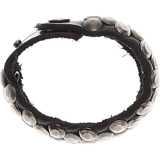 Bracelet for Women, Black, Leather, 2017, One Size Diesel