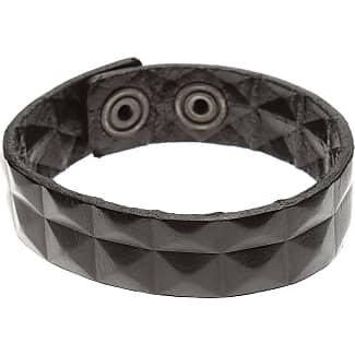Diesel Bracelet for Men On Sale in Outlet, Black, Leather, 2017, One Size