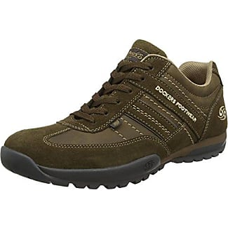 Dockers by Gerli 36DG002-204142, Sneakers basses homme - Noir - Schwarz (schwarz/stone 142), 41 EU