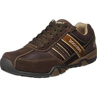 41tm002-201, Sneakers Basses Homme, Marron (Reh/Blau), 41 EUDockers by Gerli