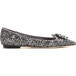 Womens Shoes On Sale in Outlet, Silver, Leather, 2017, 3.5 Dolce & Gabbana