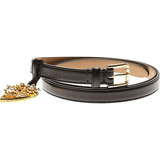 Womens Belts On Sale in Outlet, Black, Leather, 2017, 34 inches - 85 cm 36 inches - 90 cm 38 inches - 95 cm 40 inches - 100 cm Dolce & Gabbana