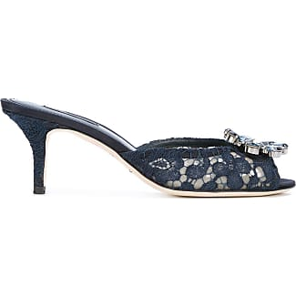 Sandals for Women On Sale, Black, Viscose, 2017, 3.5 4.5 Dolce & Gabbana