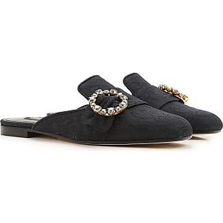Zapatillas Slip On para Mujer Baratos en Rebajas Outlet, Rosa, Piel, 2017, 35 36 40 Dolce & Gabbana