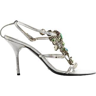 Segunda mano - Sandalias romanas de Pitón Dolce & Gabbana