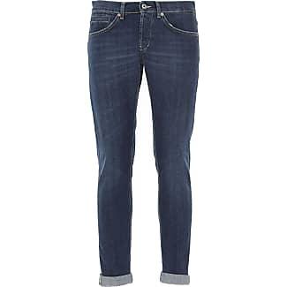 Jeans On Sale, Denim Blue, Cotton, 2017, 30 31 32 33 34 36 38 Dondup