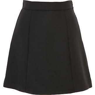 Skirt for Women On Sale, Black, poliestere, 2017, 26 Dondup
