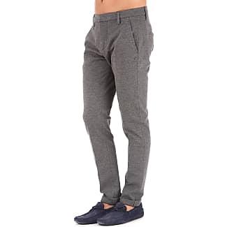 Pants for Men On Sale, Dark Grey, Wool, 2017, 31 Dondup