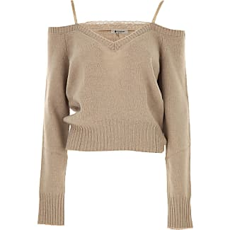 Sweater for Women Jumper On Sale, White, alpaca, 2017, 6 8 Dondup