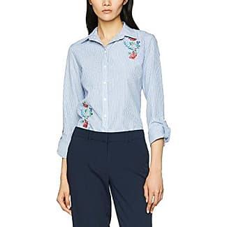 Dorothy Perkins Stripe Fluted Tie Sleeve Shirt, Camisa para Mujer, Azul, 42