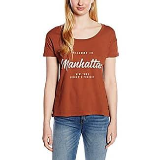Friday's Project Burn out T-Shirt, Camiseta para Mujer, Aguamarino, M