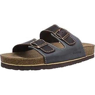 DR Brinkmann 600308 LINEA UOMO Muli BlueBlau jeansMokka 65 UK