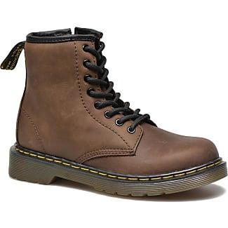 Boots lacées de loisirs - caramelBlancheporte