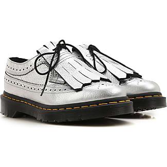 Zapatos de Mujer Baratos en Rebajas Outlet, Rosa Ácido, Charol, 2017, 40 Dr. Martens